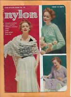 NYLON BROCHURE 1953 15  PAGES VINTAGE ADVERTISING