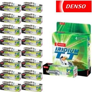 16 Pack Denso Iridium TT Spark Plugs 2003-2008 Dodge Ram 1500 5.7L V8 Kit Set