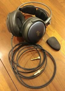 Audio-Technica ATH-A900 headphones with leather HP-W5000 earpads