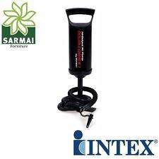 Intex Pompa gonfietto manuale gonfiaggio gonfiabili mare piscina con tubo