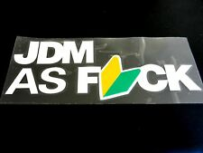 HOT & NEW sale JDM Vinyl Decal 2 PIECES for your CIVIC, WRX, FRS, BRZ, SKYLINE