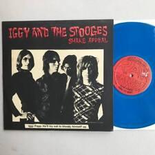 "Iggy Pop & Stooges Shake Appeal 10"" Blue Vinyl EP Pre-Bowie Mixes"