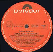 JAMES LAST - In concert - Polydor