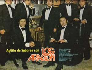 LOS ARAGON - AGUITA DE SABORES CON LP NM SHAPE