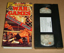 NWA War Games vhs wrestling wcw wwf Ric Flair The Road Warriors