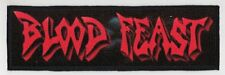 BLOOD FEAST SUPERSTRIP PATCH / SPEED-THRASH-BLACK-DEATH METAL