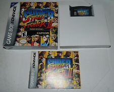 Super Street Fighter II: Turbo Revival (Game Boy Advance) 2 GBA *COMPLETE IN BOX