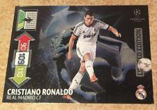 Panini FIFA 365 2012/2013 12 13 Limited Edition Champions League Ronaldo  card