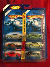 06 New 2007 Hot Wheels Design 6 Pack Various Years from 1966> on Mint Card K4305