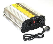 Spannungswandler USV 12V 1000 2000 Watt reiner SINUS Inverter Wechselrichter NEU