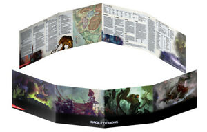 RPG - Dungeons and Dragons - Rage of Demons DM Screen NEW!