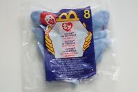 Ty Teenie Beanie Babies 1999 Flitter the Butterfly #8. McDonald's Sealed