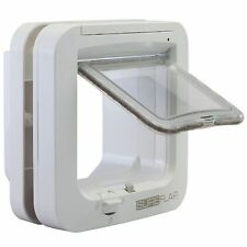 SureFlap Microchip Smart Cat Flap Cats Dogs Micro Chip Reader Door Pets White