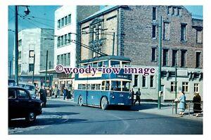 gw0565 - South Shields Trolleybus no 226 in 1959 - print 6x4