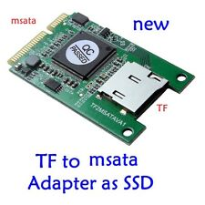 Micro sd TF card to msata Adapter as SSD for Notebook high speed SSD
