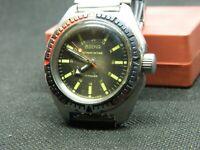 vintage military Soviet USSR VOSTOK Amphibian Diver AntiMagnetic watch 2409a SU