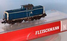 Fleischmann 723101, Traccia N, DB DIESEL BR 212 331-4, Oceano Blu-Beige, epoca 4