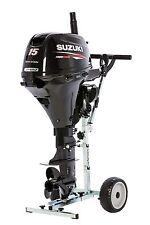 NEU 15 PS Suzuki Außenborder Aussenborder Mercury Honda Yamaha mit Motortrolley