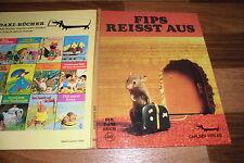 Esta de Fossard -- FIPS REISST AUS // Daxi-Buch # 46 Carlsen Verlag 1. Auf. 1975