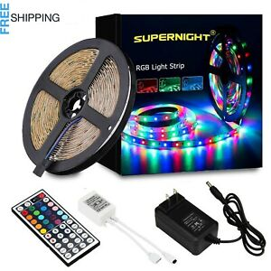 Remote Led String Strip Color Changing Lights Lamps Indoor Room Home for Party