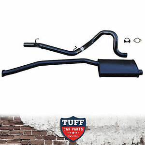 """AU Ford Falcon Ute 6Cyl 2.5"""" Cat Back Sports Exhaust System No Rear Muffler Loud"""