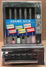 Antique Adams Gum Machine - Coin Operated - Chiclets - Penny - Free Shipping