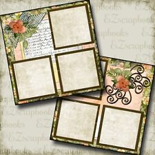PRETTY MAMA - Premade Scrapbook Pages - EZ Layout 255