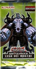 YU-GI-OH TCG Lega dei Mostri PACK ITA PRIMA FIRST EDITION NEW SEALED RARE