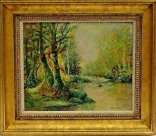 Thomas Bigelow Craig (American,1849-1924) Landscape Oil Painting Phila PA Artist