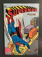 SUPERMAN POCHE (Sagedition) - T20 : avril 1979