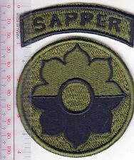 RECON US Army Vietnam 9th Infantry Division SAPPER Mekong Delta Old Reliable acu