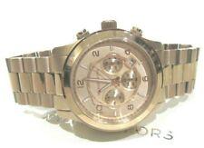Michael Kors Men's Runway Rose Gold Tone Chronograph Watch MK8735 NWT $275