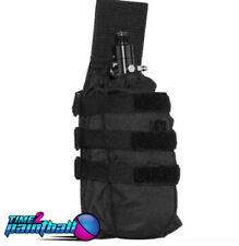 Valken Tactical Paintball Universal MOLLE Tank Holder / Pouch - Black