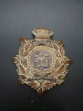 More details for royal anglian regiment victorian helmet plate circa 1875-1901. - gibraltar