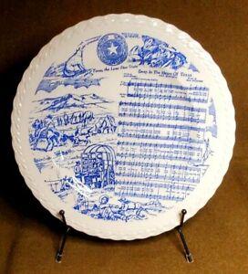 "Vintage Vernon Kilns ""Deep in the Heart of Texas"" Collectors Plate"