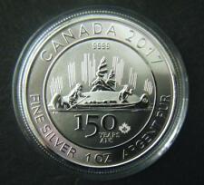 2017 Canada $5 150th Special Edition Voyageur Silver Bullion Coin