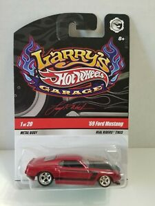 HOT WHEELS LARRY'S GARAGE '69 FORD MUSTANG CHASE