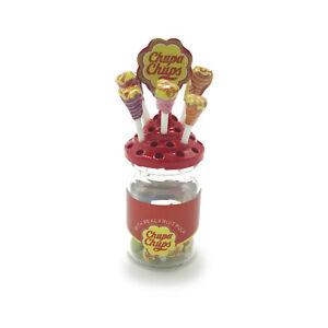 Dollhouse 1:6 Scale Lollipop Jar Lollypop Base Miniature Model Accessories