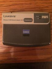 LINKSYS WUSB54GR 2.4 GHz WIRELESS-G USB NETWORK ADAPTER W/BOOST