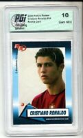 Cristiano Ronaldo 2004 Rookie Review card PGI 10 Portugal Real Madrid