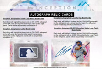 2019 TOPPS INCEPTION BASEBALL LIVE PICK YOUR PLAYER (PYP) 1 BOX BREAK #2