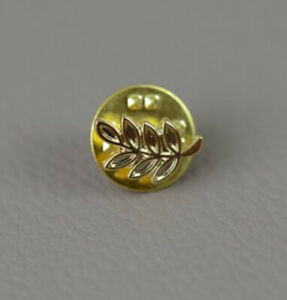 Brosche Pin´s Freimaurer Acacia Masonic Akazie 7 Blätter Pins Diskret 10mm