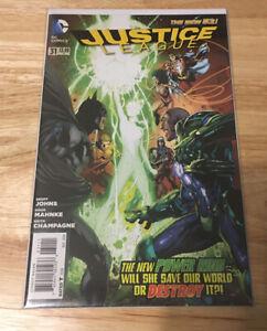 DC Comics Justice League #31 First Appearance Of Jessica Cruz!!