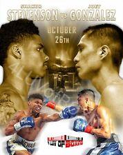 Shakur Stevenson vs Joet Gonzalez 4LUVofBOXING Poster Boxing gym wall art New