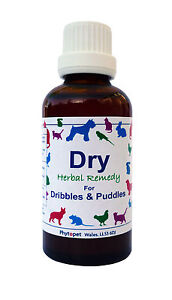 Phytopet Dry 30ml/100ml help urinary incontinence in dogs & cats