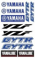 YZF GYTR Yamalube Decals Set Laminated Stickers YZF-R1 YZF-R6 YZ-F 450 /113