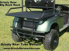 """GRIZZLY'S EZGO TXT GOLF CART REAR TUBE BUMPER BRUSH GUARD 2"""" RECEIVER HITCH"""