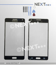 Vetro Vetrino per schermo touch screen Samsung Galaxy A5 2015 A500F nero + kit
