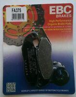 Honda CBR125R (2004 to 2016) EBC Organic FRONT Brake Disc Pads (FA375) (1 Set)