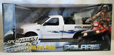 ERTL Ford F-150 Pickup Truck & Polaris Sportsman 500 4X4 1/18 Replica#13150 Mint